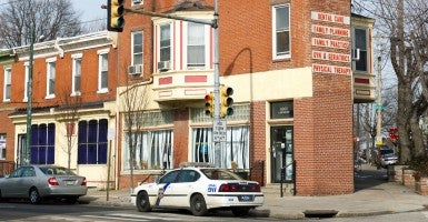 Kermit Gosnell's abortion clinic. (Photo: Gilbert Carrasquillo/Splash News/Newscom)