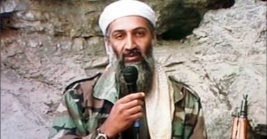 Osama bin Laden in 2001. (Photo: Al-Jazeera/ZUMA Press/Newscom)