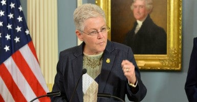 EPA Administrator Gina McCarthy. (Photo: State Department/Sipa USA/Newscom)
