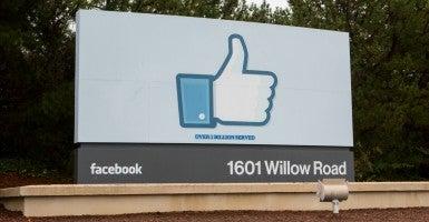 Facebook headquarters in California. (Photo: Kris Tripplaar/TRIPPLAAR KRISTOFFER/SIPA/Newscom)