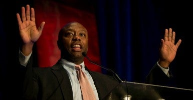 Sen. Tim Scott, R-S.C. (Photo: Brian Cahn/ZUMA Press/Newscom)