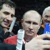 Vladimir Putin poses for a selfie. (Photo: Nikolsky Alexei/ZUMA Press/Newscom)