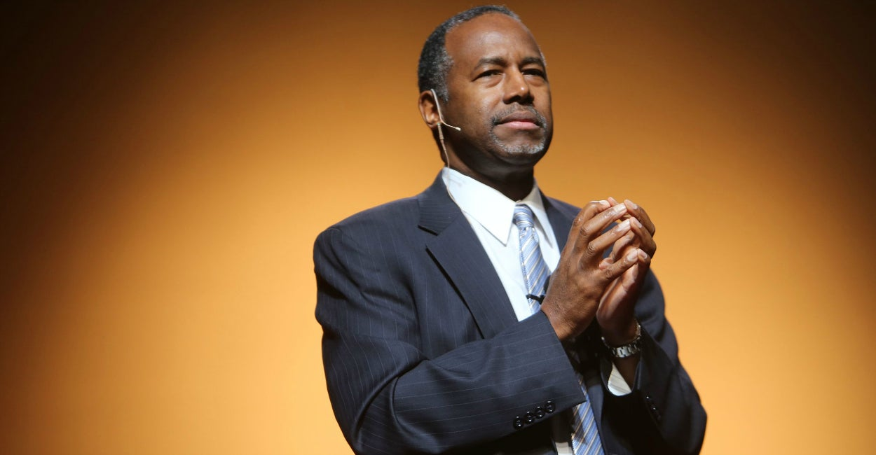 Ben Carson (Photo: Regina H. Boone/ZUMA Press/Newscom)