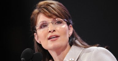 Sarah Palin. (Photo: Olivier Douliery/MCT/Newscom)