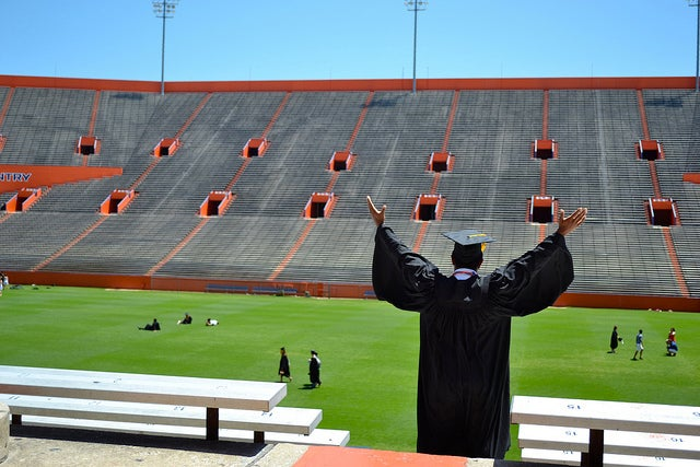 Post-University of Florida graduation. (Photo: Chris Gilmore/Flickr)