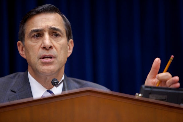 Rep. Darrell Issa at Oversight and Government Reform Committee