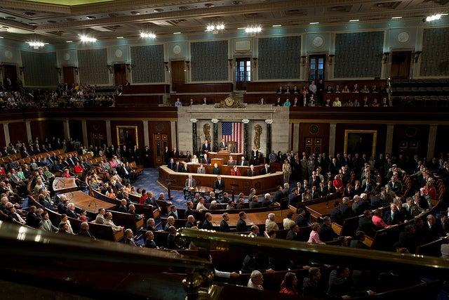 Obamacare, voto en el Capitolio