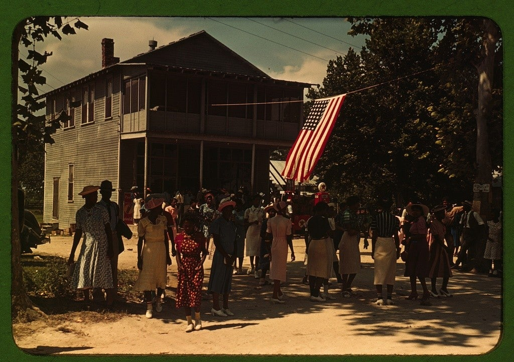 Fourth of July celebration at St. Helena Island, S.C., 1939. (Photo: Marion Post Wolcott/ The Library of Congress)