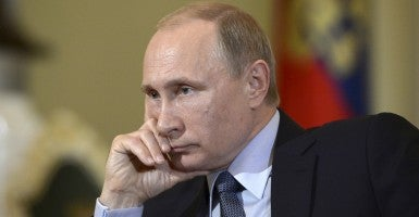 Vladimir Putin. (Photo: Ria Novosti/Reuters/Newscom)
