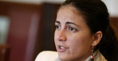 Rosa Maria Paya. (Photo: Ivan Franco/EFE/Newscom)