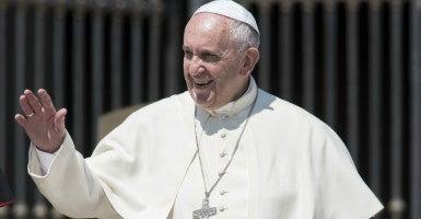 Pope Francis. (Photo: Massimo Valicchia/ZUMA Press/Newscom)