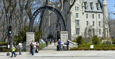 Northwestern University. (Photo: Brian Kersey/UPI/Newscom)