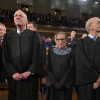Supreme Court justices at the State of the Union. (Photo: Polaris/Newscom)