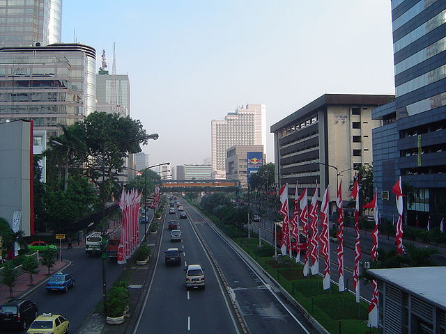 A view of Jakarta, capital of Indonesia