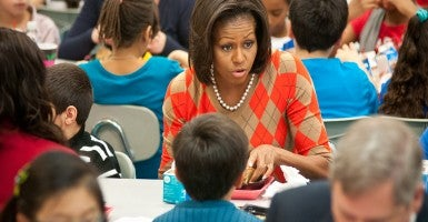 Michelle Obama Shouldn 39 T Decide What Your Child Eats