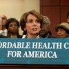House Democratic Leaders hold a press conference to highlight the benefits of the Affordable Care Act. (Photo: Leader Pelosi Flick