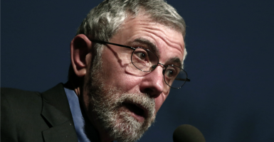Paul Krugman's latest column doesn't look at all the relevant research on minimum wage. (Photo: Panayiotis Tzamaros/ZUMA Press/Newscom)