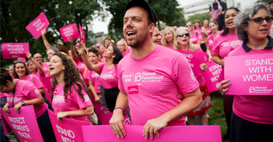 Planned Parenthood benefits from the breakdown of the family. (Photo: Tom Williams/CQ Roll Call/Newscom)