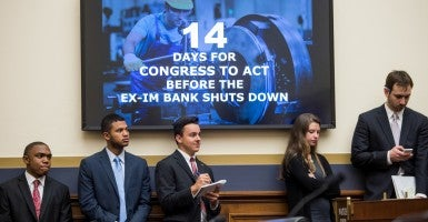 The Export-Import Bank does not help small businesses nearly as much as some suggest. (Photo: Bill Clark/CQ Roll Call/Newscom)