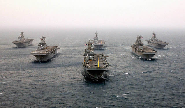 U.S. Navy Amphibious assault ships