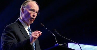 Robert Bentley is governor of Alabama, one of three states that has ended taxpayer dollars going to Planned Parenthood. (Photo: Jonathan Bachman/Reuters/Newscom)