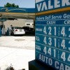A driver fills up at a Valero gas station in 2008 when the price of a gallon of gas could reach more than $4.50. (Photo: David McNew/Gett