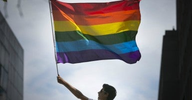 Will those who oppose gay marriage be allowed to live in accordance with their  beliefs?  (Photo: Elijah Nouvelage/Reuters/Newscom)