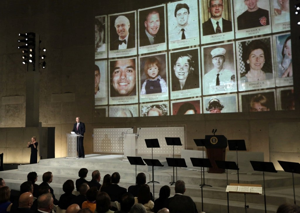 Dedication of the National September 11 Memorial Museum in NY