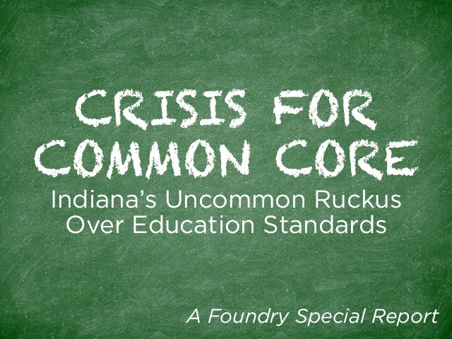 Crisis For Common Core