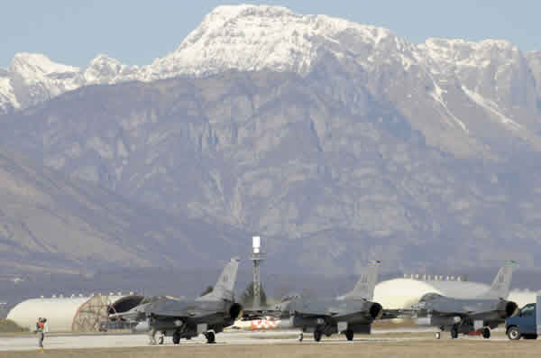 Aviano Air Base, Italy