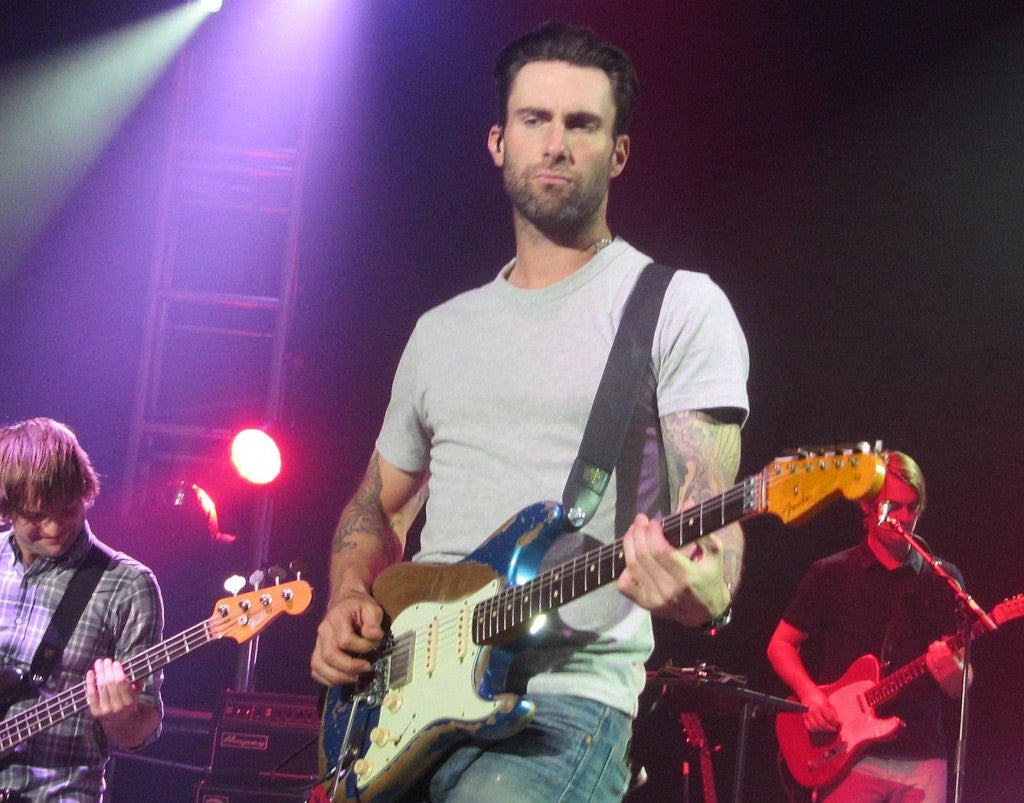 Adam Levine (Credit: Rick Davis/Splash News/Newscom)