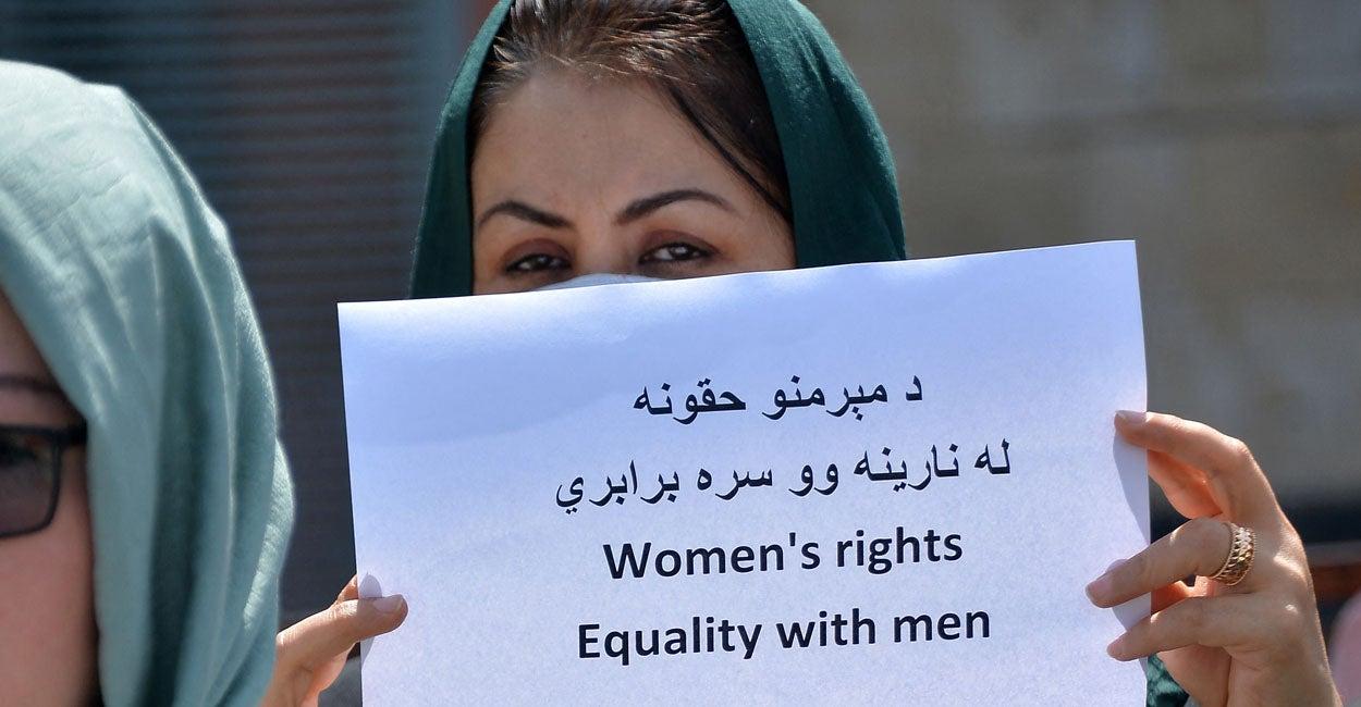 After Biden Abandons Afghan Women, His 'Women's Rights' Rhetoric Rings Hollow