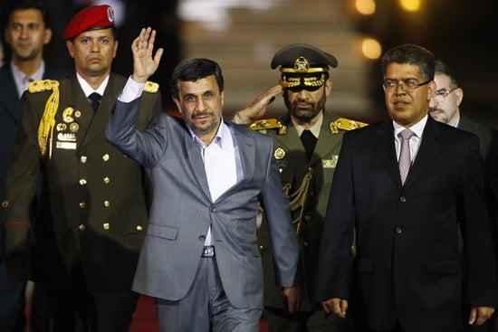 Ahmadinejad -Venezuela-1-8-12