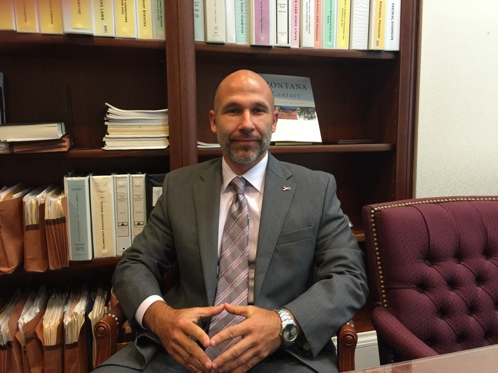 Bennet Wright, executive director of the Alabama Sentencing Commission, blames overcrowding in the state's prisons on complex sentencing laws. (Photo: Josh Siegel/The Daily Signal)