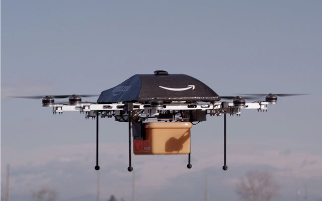 Amazon Delivery Drone (Amazon/ZUMA Press/Newscom)