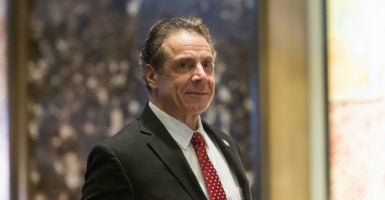 New York Gov. Andrew Cuomo pushed for a $163 million program to make full-time college tuition-free, which has now been included in the state's budget. (Photo: Albin Lohr-Jones/Zuma Press/Newscom)