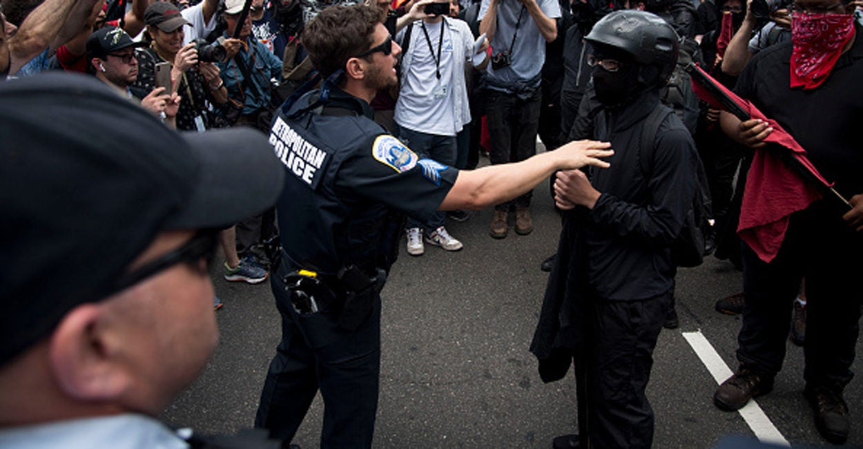 Trump Weighs Designating Antifa as 'Terrorist Organization'