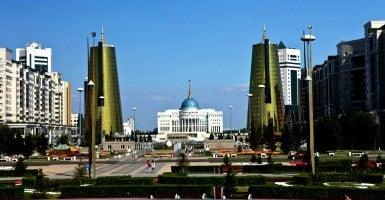 Government buildings in Astana, Kazakhstan. (Photo: ninara / flickr CC BY 2.0)