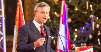 Norbert Hofer is running for president under the Freedom Party of Austria, a growing populist party. (Photo: Schneider, Georges/ZUMA Press/Newscom)
