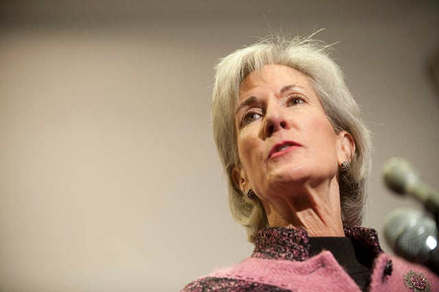 Public Citizen demanded an apology to study's 'ethical lapses' from HHS  Secretary Kathleen Sebelius (Photo: Pete Marovich/ZumaPress.com/Newscom)