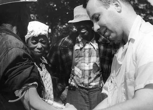 The once-secret  Tuskegee syphilis experiment shaped research ethics.  (Photo: National Archives via Wikimedia)