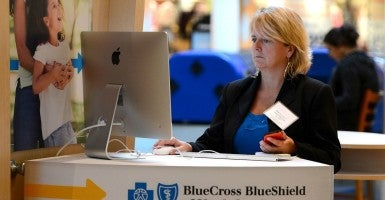 """Excellus BlueCross BlueShield released a statement this week about a cyber theft that could compromise the personal information of up to 10.5 million customers. "" (Photo: Jeff Siner/Charlotte Observer/MCT/Newscom)"