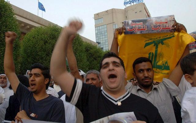 Simpatizantes de Hezbollah en Bahrein