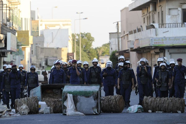Bahrain-protest121107