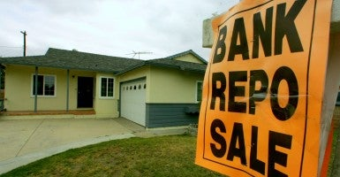As a result of the housing crisis, some Santa Ana neighborhoods were plagued with bank repo, foreclosure, and price reduced signs. (Photo: Jebb Harris/ZUMA Press/Newscom)