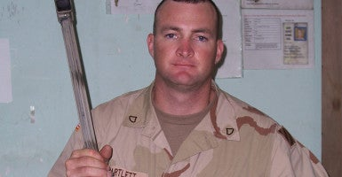 Retired Staff Sgt. Robert Bartlett appears in a picture taken one month before he was injured in May of 2005. (Photo: Staff Sgt. Robert Bartlett)