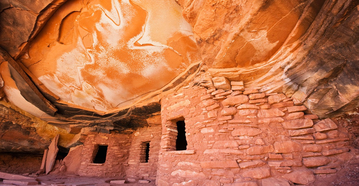 The Fallen Roof Ruin is contained in the 1.9 million-acre Bears Ears area proposed for a national monument in southeastern Utah. (Photo: Fotofeeling/Westend61/Newscom)