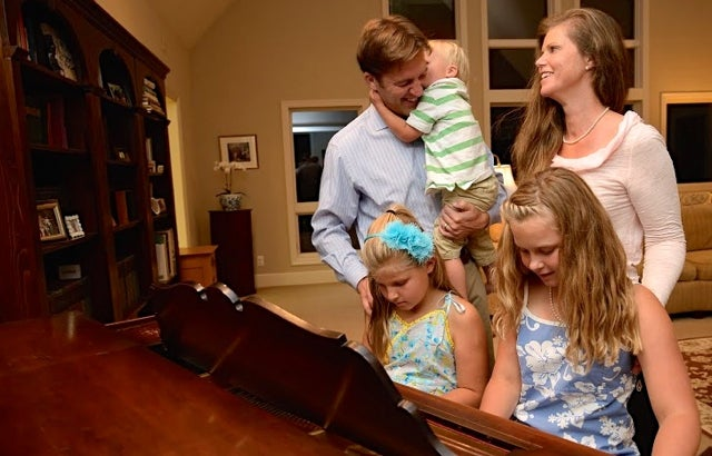 Ben and Melissa Sasse raise their three children in Nebraska (Photo: Sasse for Senate)