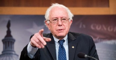 Senate Budget Committee ranking member Sen. Bernie Sanders, I-Vt.  (Photo: Bill Clark/CQ Roll Call/Newscom)