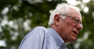 Sen. Bernie Sanders of Vermont, who is running for the democratic nomination for president (Photo: Jim Young/Reuters/Newscom)
